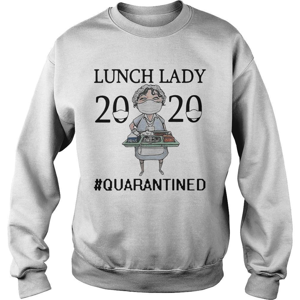 Nurse Mask Lunch Lady 2020 Quarantined Sweater