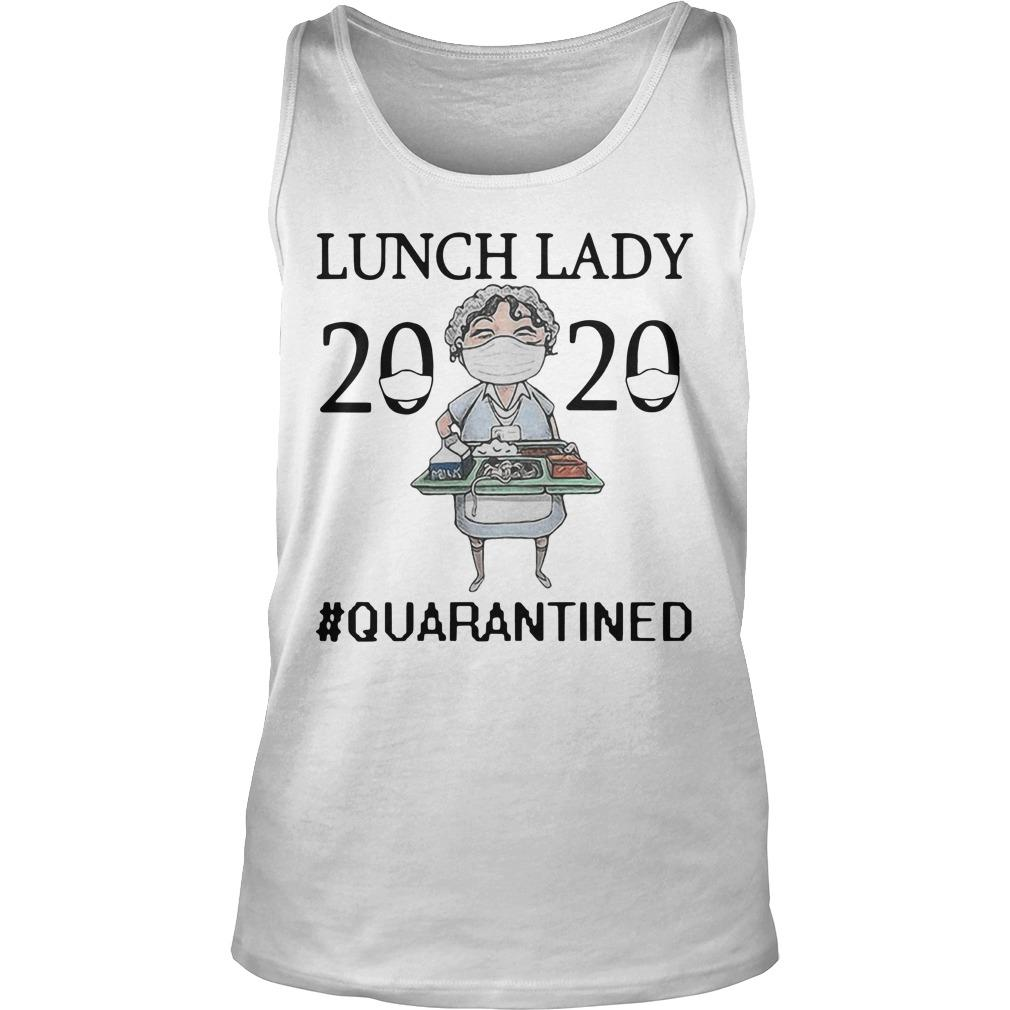 Nurse Mask Lunch Lady 2020 Quarantined Tank Top