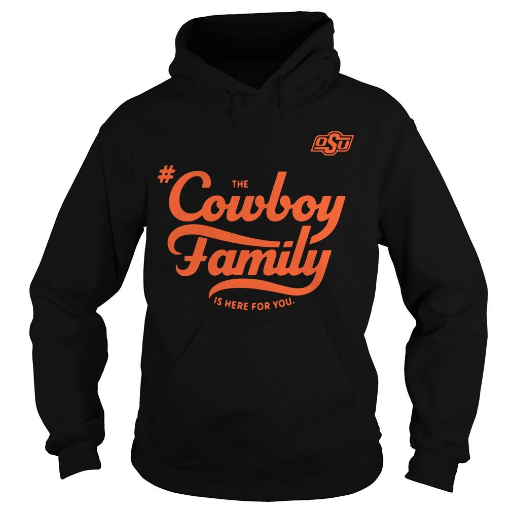 Osu The Cowboy Family Is Here For You Hoodie