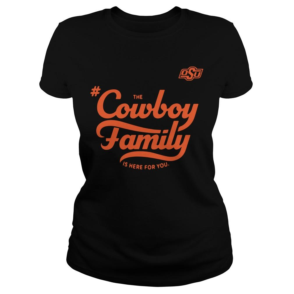 Osu The Cowboy Family Is Here For You Longsleeve