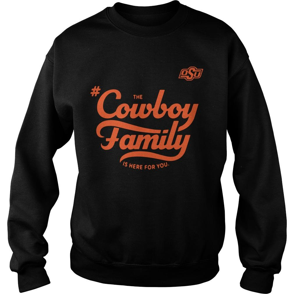 Osu The Cowboy Family Is Here For You Sweater