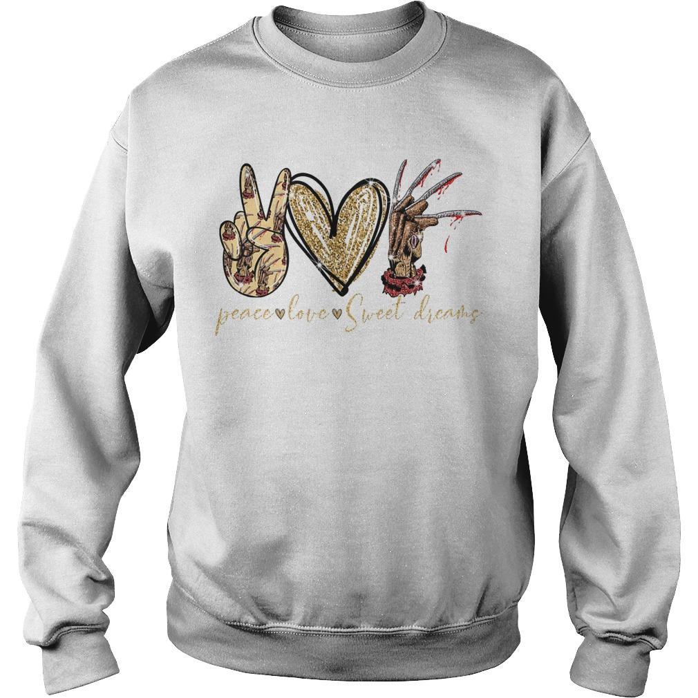 Peace Love Sweet Dreams Sweater