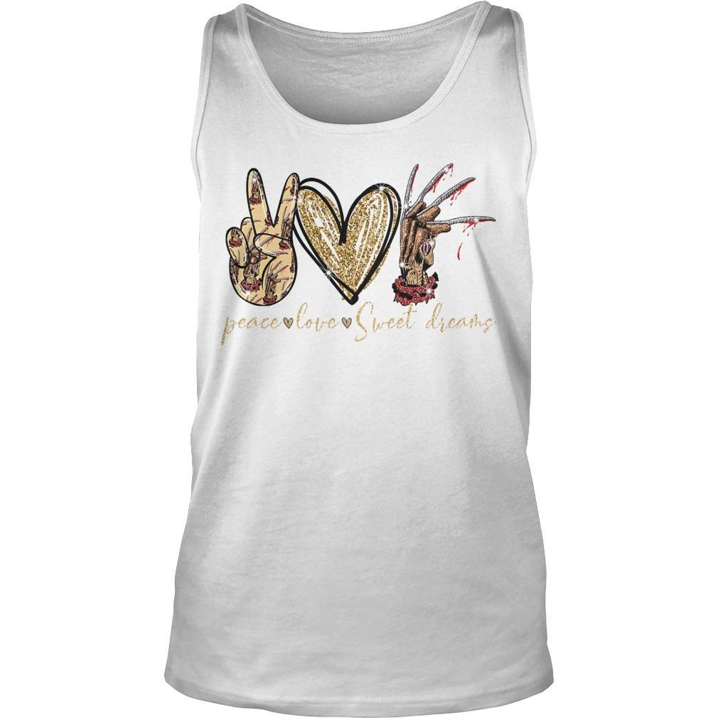 Peace Love Sweet Dreams Tank Top