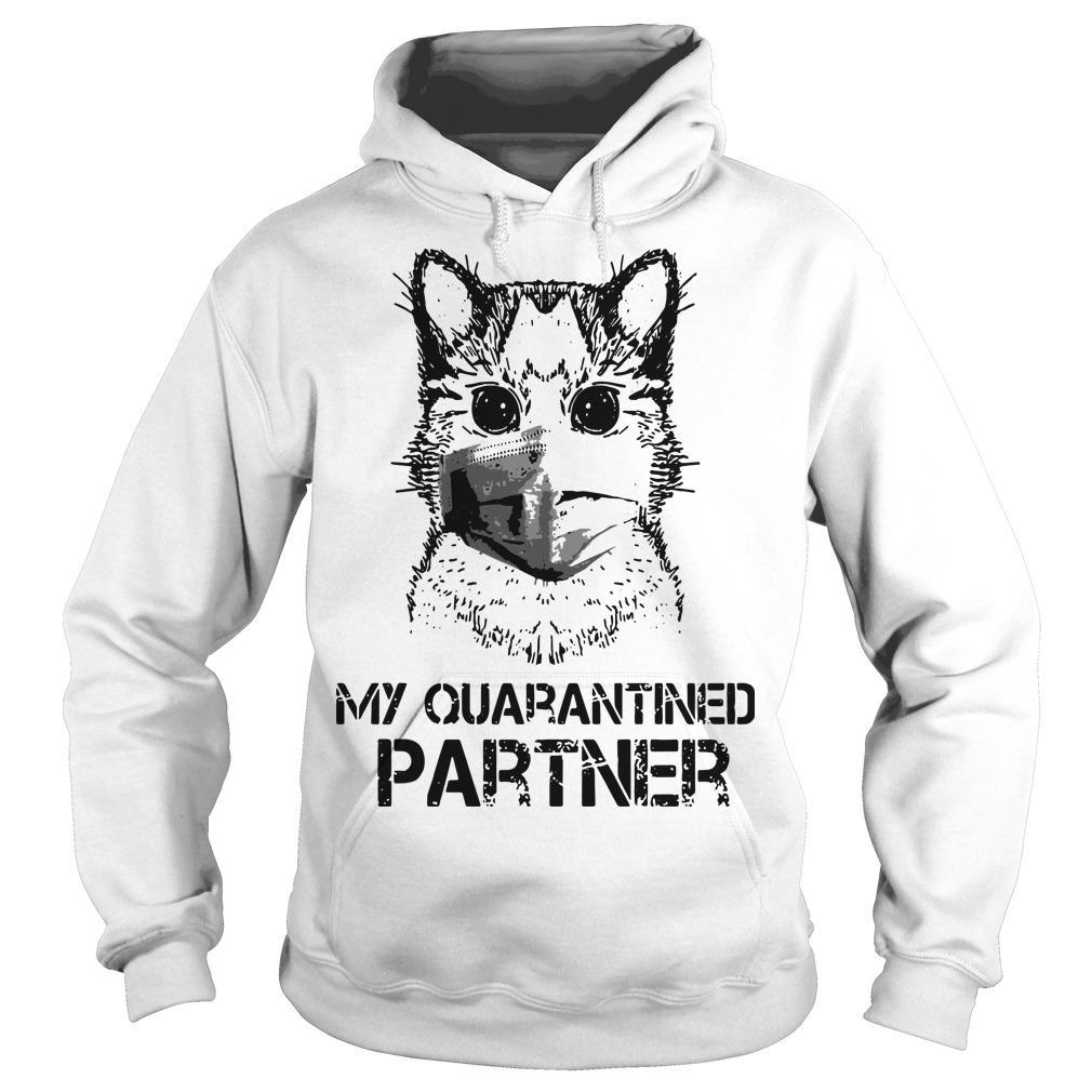 Raccoon Face Mask My Quarantined Partner Hoodie