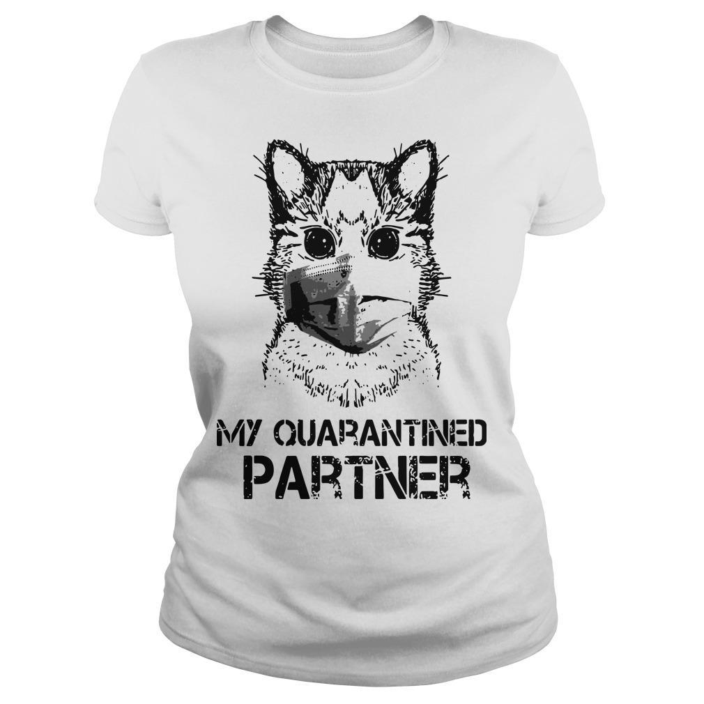 Raccoon Face Mask My Quarantined Partner Longsleeve