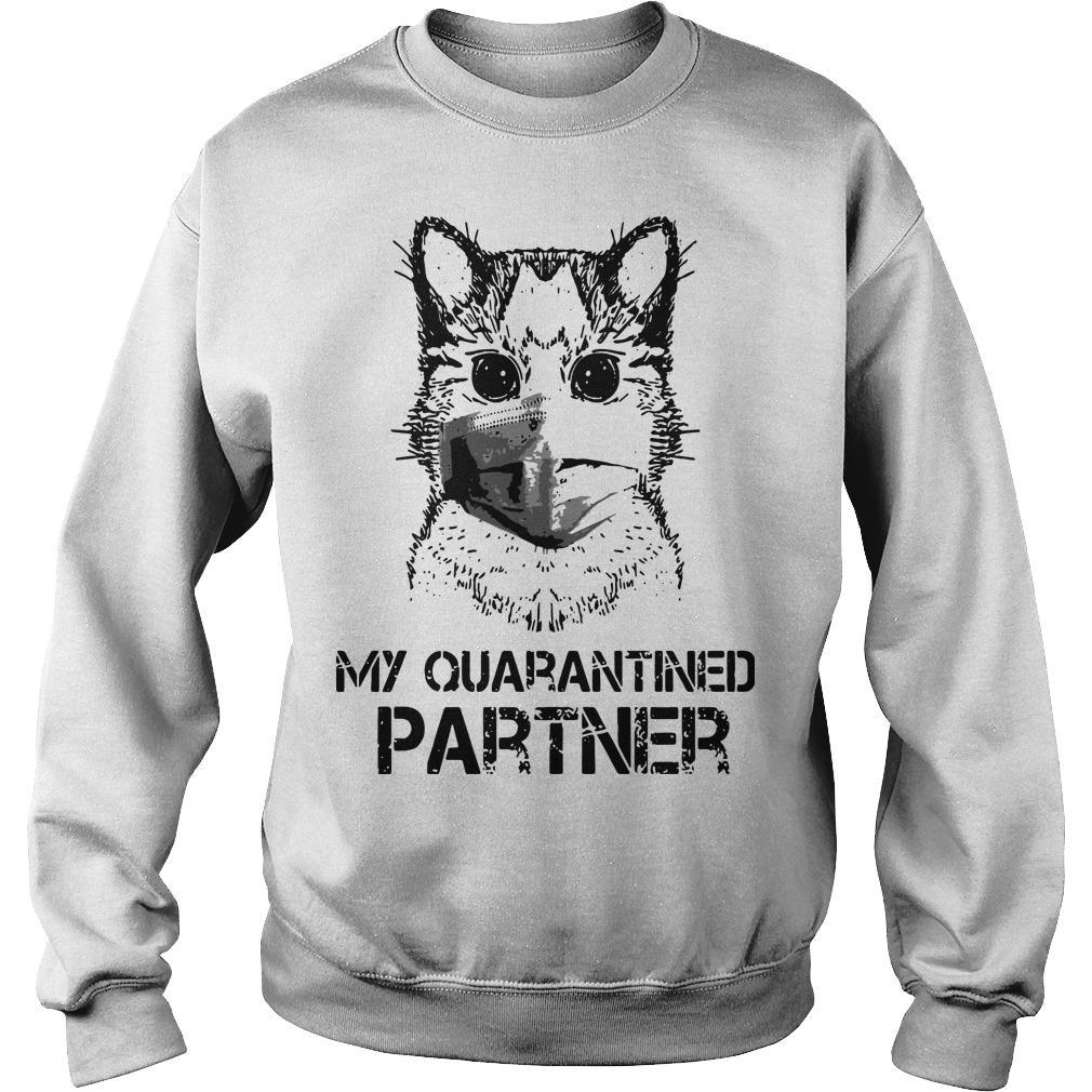 Raccoon Face Mask My Quarantined Partner Sweater
