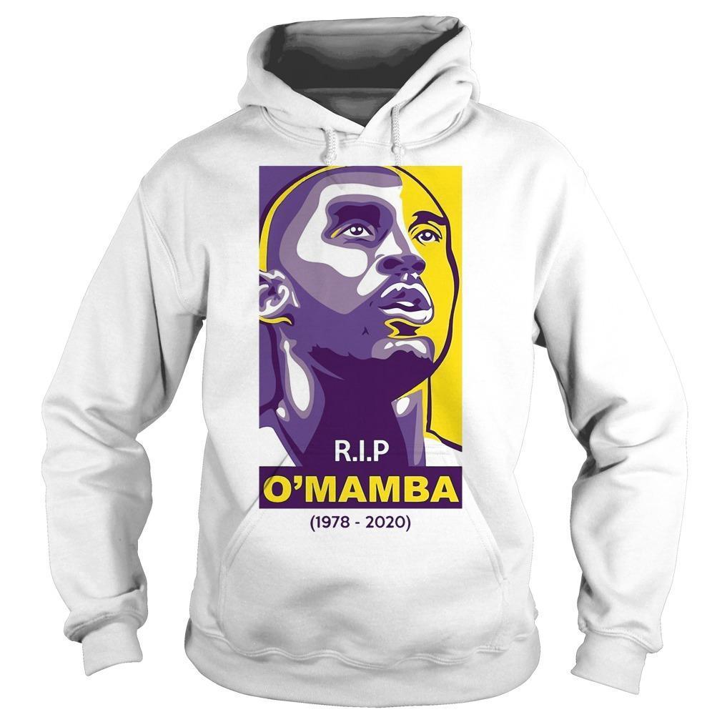 Rip O'mamba 1978 2020 Kobe Bryant T Hoodie