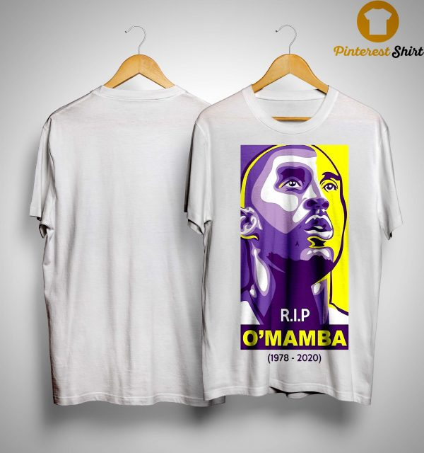 Rip O'mamba 1978 2020 Kobe Bryant T Shirt