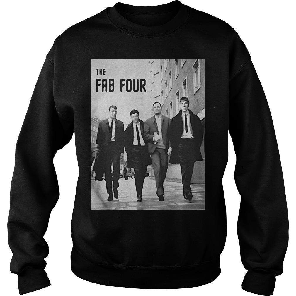 Star Trek The Fab Four Sweater