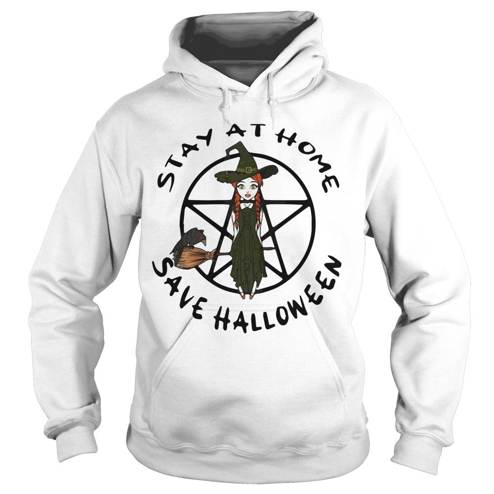Stay At Home Save Halloween Hoodie