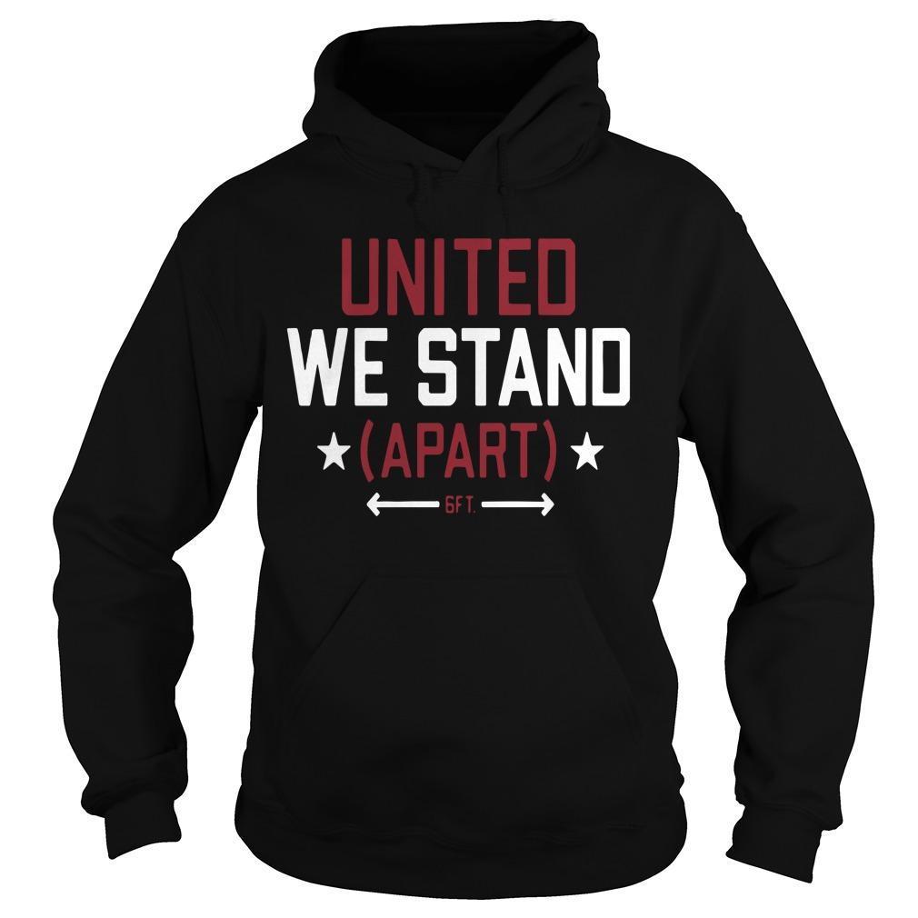 United We Stand Apart Hoodie