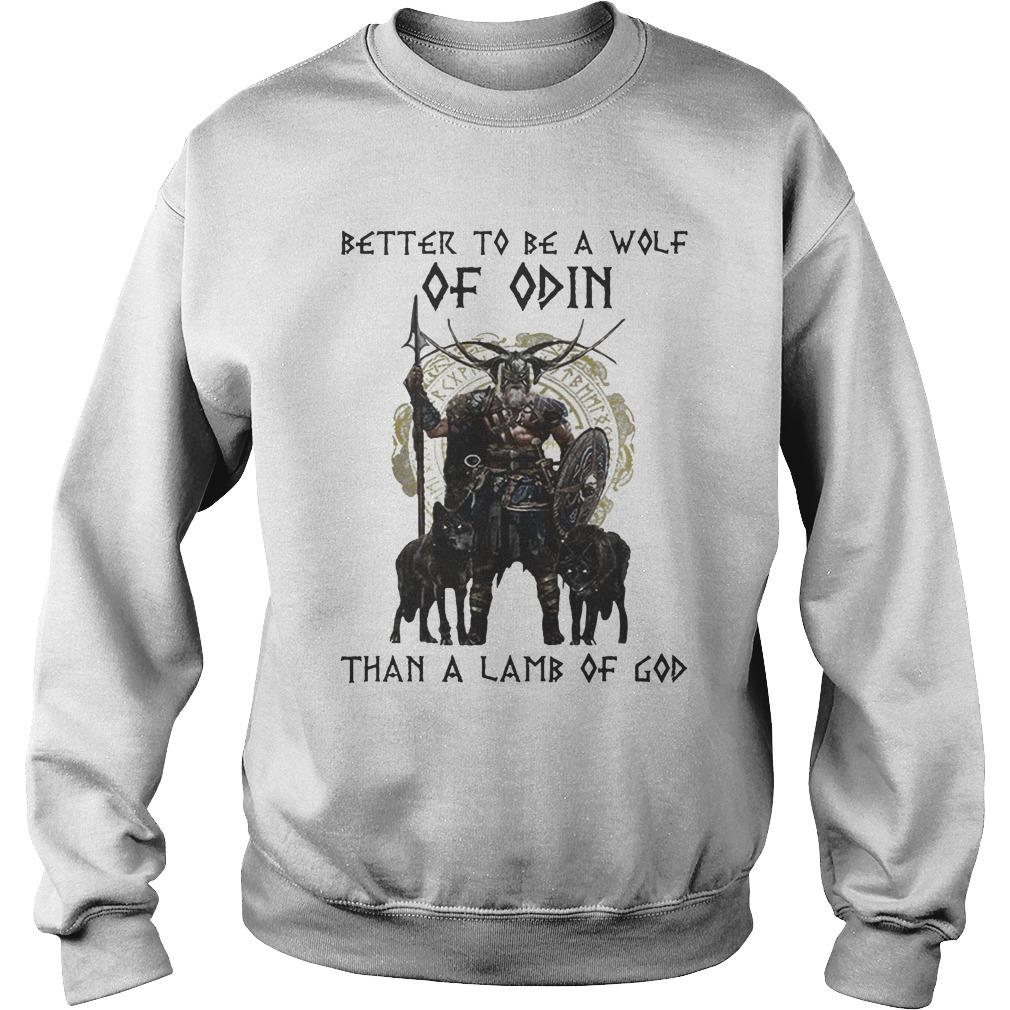 Vikings Better To Be A Wolf Of Odin Than A Lamb Of God Sweater