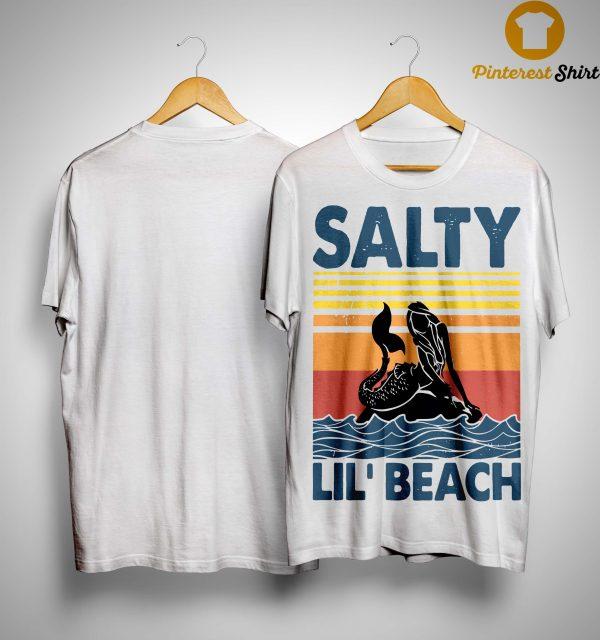 Vintage Mermaid Salty Lil' Beach Shirt