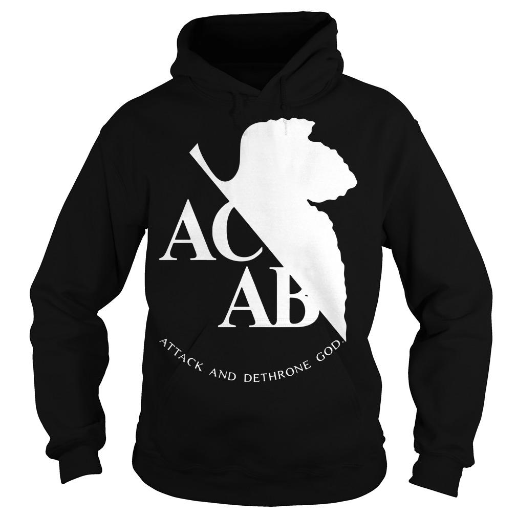 Ac Ab Attack And Dethrone God Hoodie