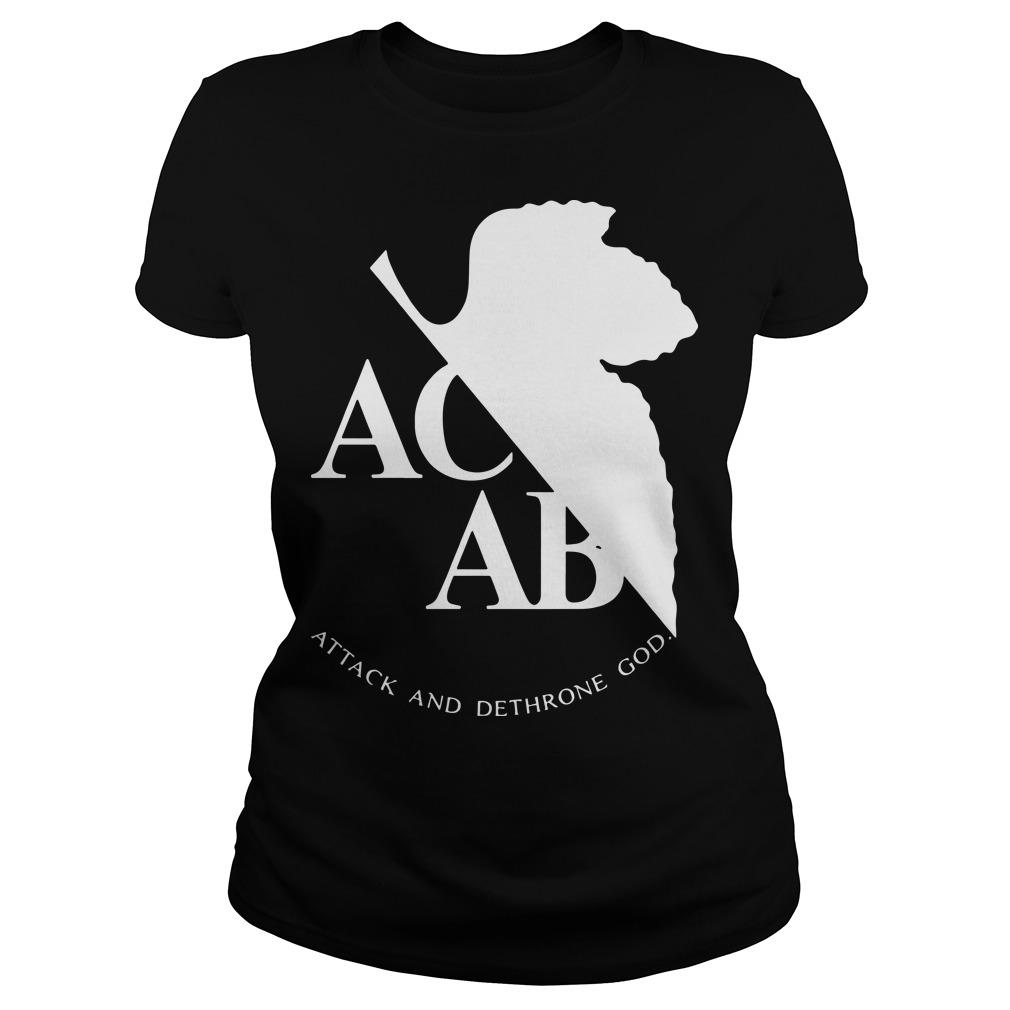 Ac Ab Attack And Dethrone God Longsleeve