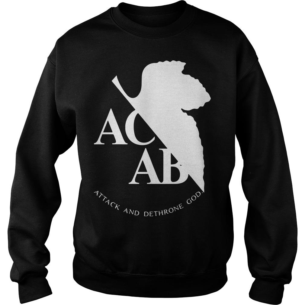 Ac Ab Attack And Dethrone God Sweater