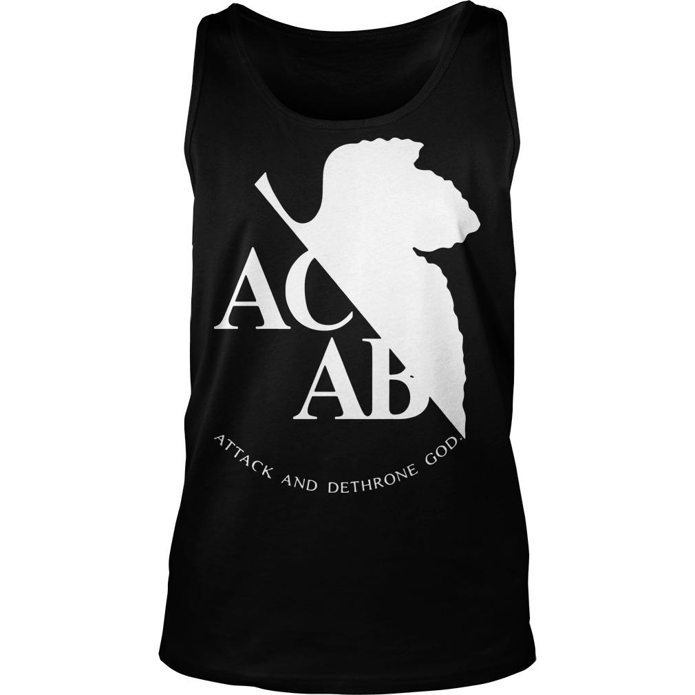 Ac Ab Attack And Dethrone God Tank Top