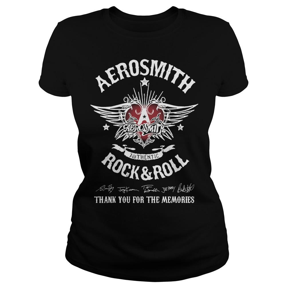 Aerosmith Authentic Rock And Roll Thank You For The Memories Longsleeve