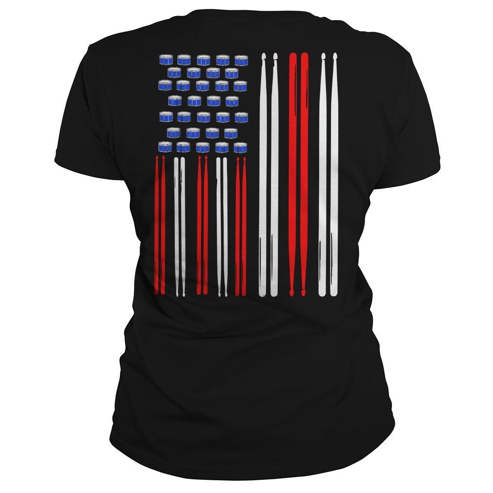 American Flag Drumsticks Longsleeve