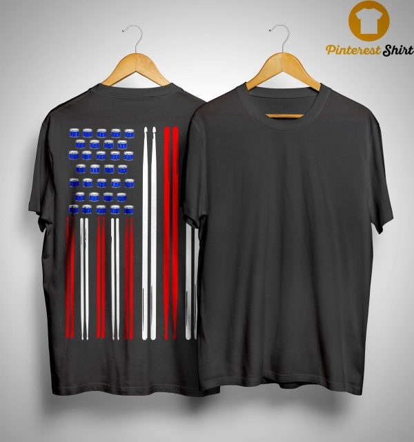 American Flag Drumsticks Shirt