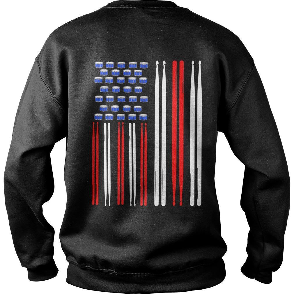 American Flag Drumsticks Sweater