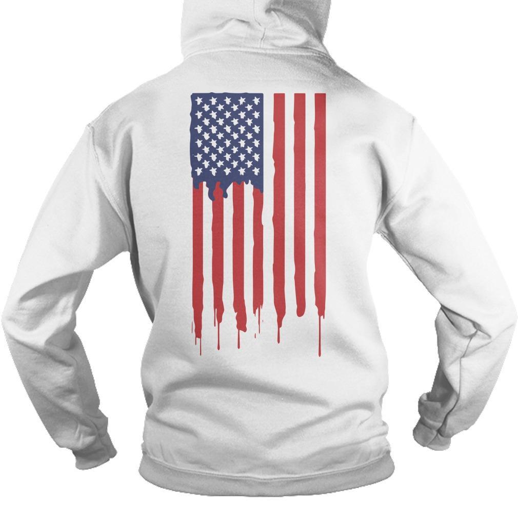 American Flag Gen Z Conservative Hoodie