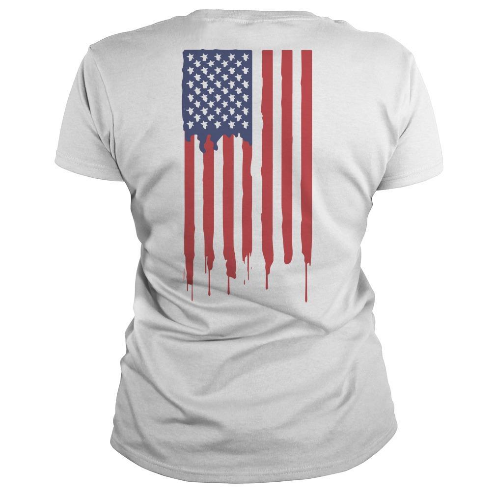 American Flag Gen Z Conservative Longsleeve
