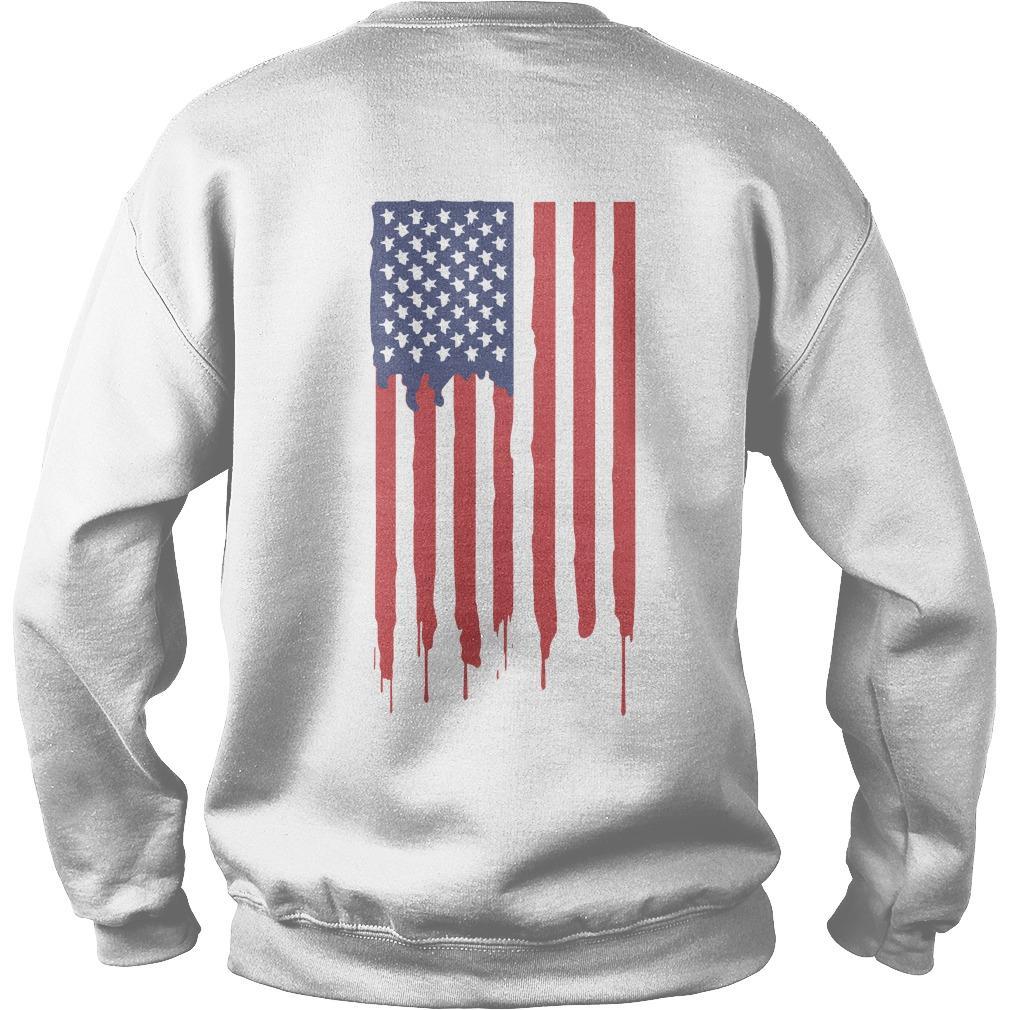 American Flag Gen Z Conservative Sweater