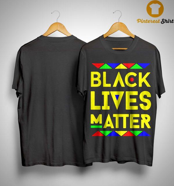 Black Lives Matter Equality T Shirt