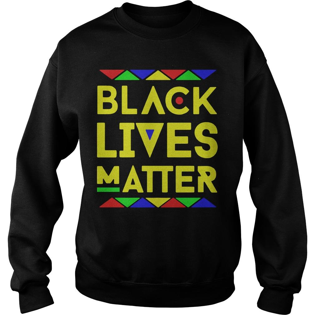 Black Lives Matter Equality T Sweater