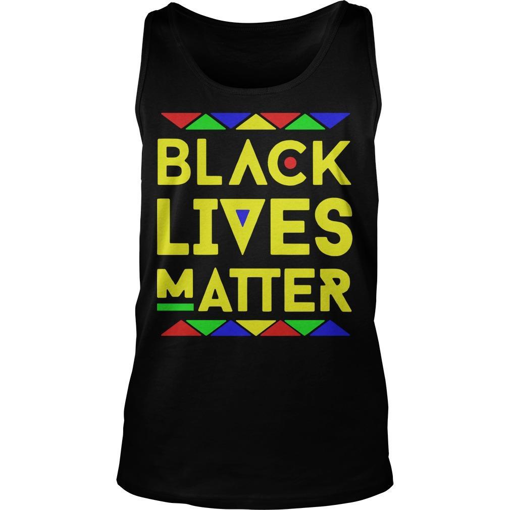 Black Lives Matter Equality T Tank Top