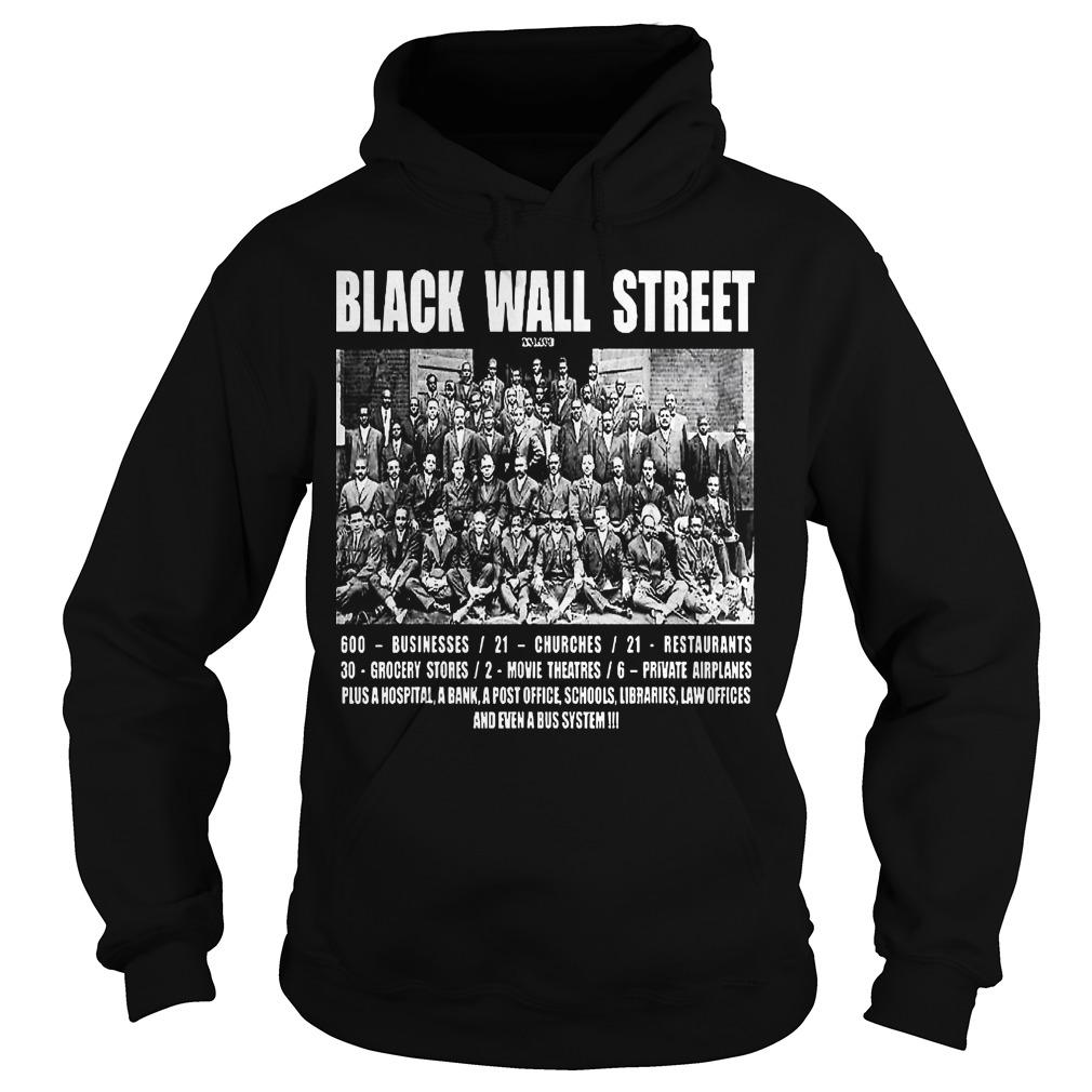 Black Wall Street Law Offices And Even A Bus System Hoodie
