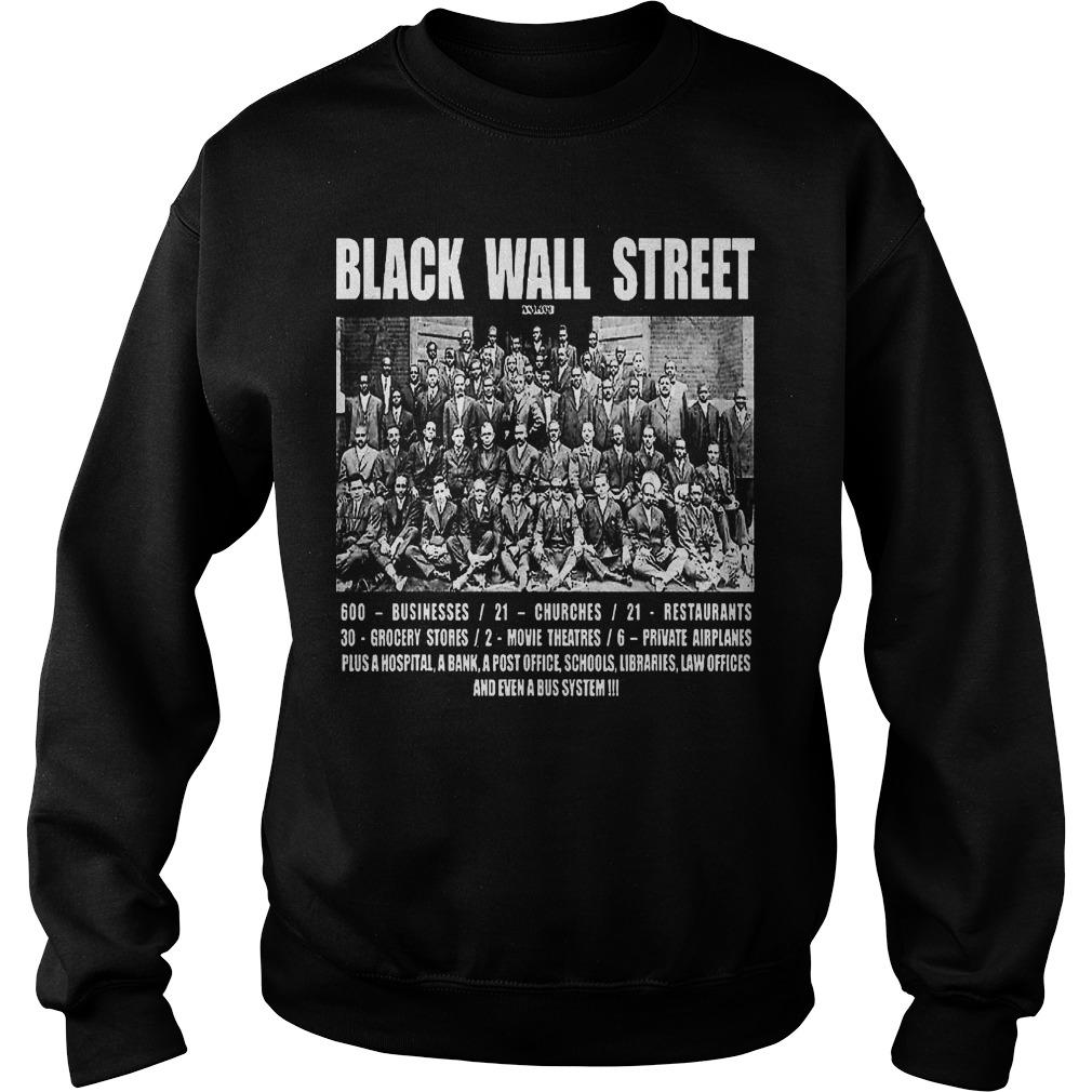 Black Wall Street Law Offices And Even A Bus System Sweater