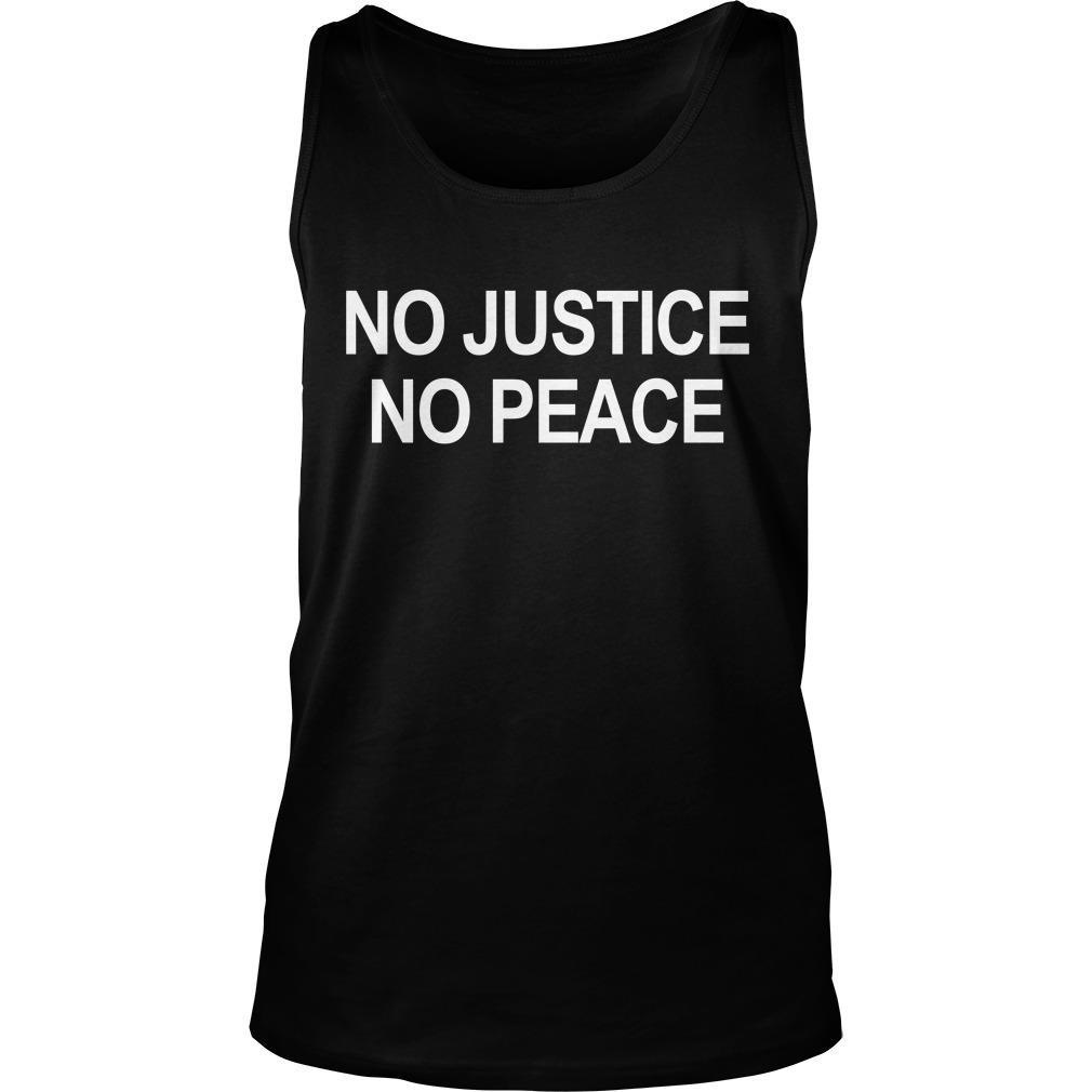 Borussia Dortmund No Justice No Peace Tank Top