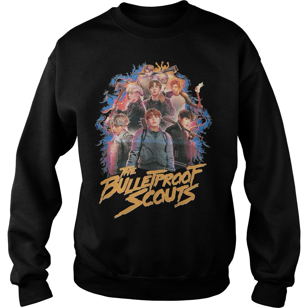 Bts The Bullet Proof Scouts Sweater