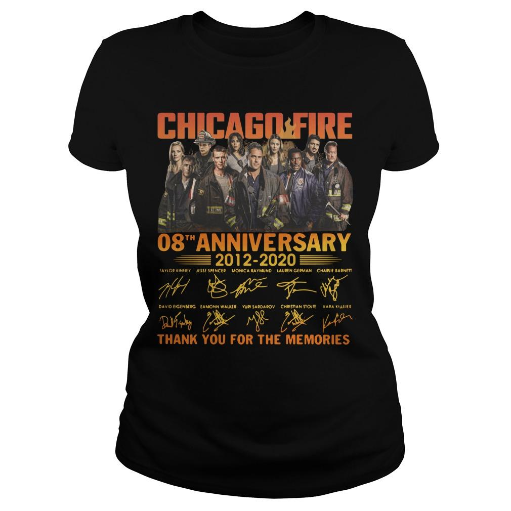 Chicago Fire 08th Anniversary Thank You For The Memories Longsleeve