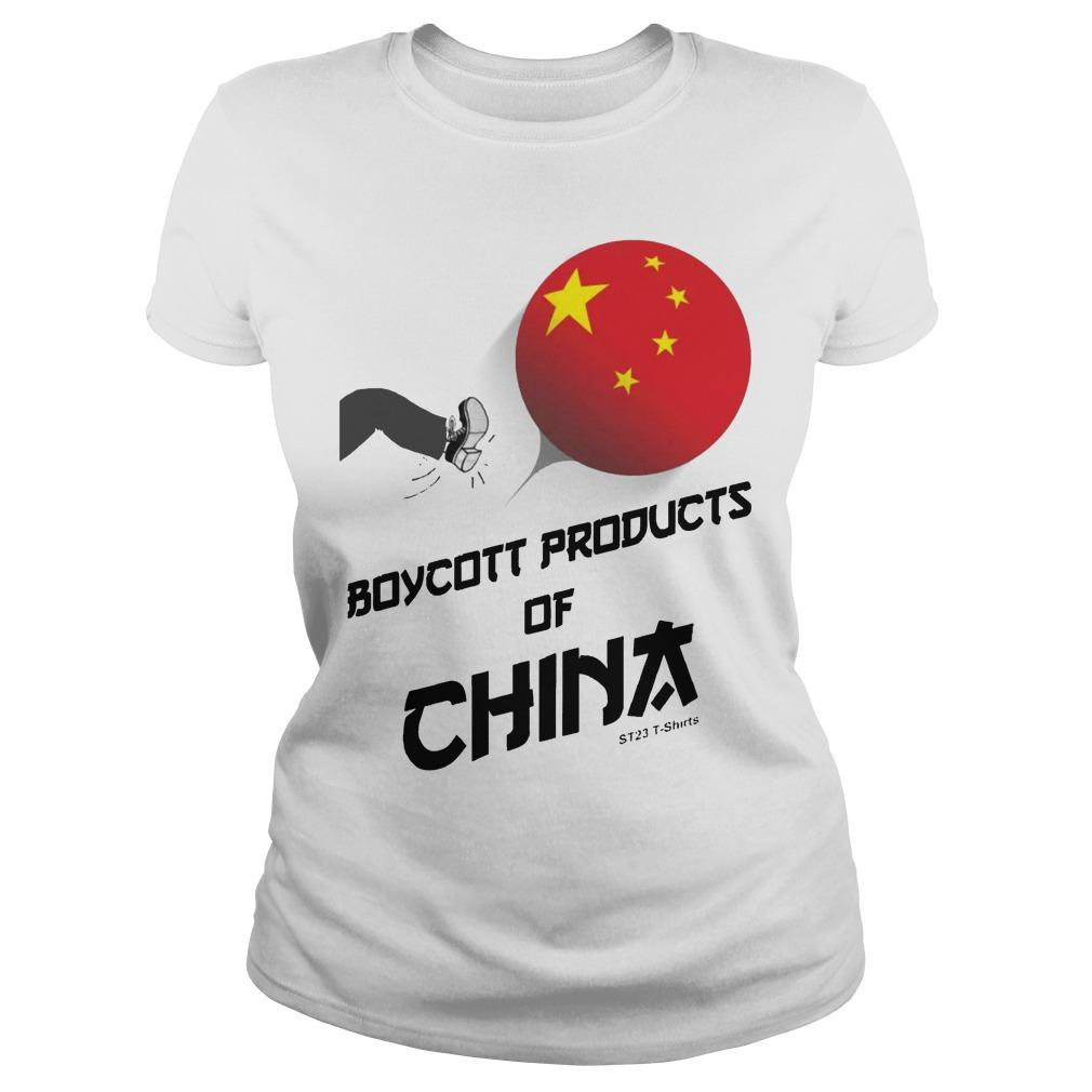 China Manufacturing Boycott China T Longsleeve
