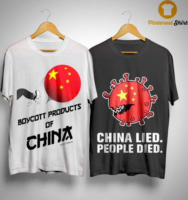 China Manufacturing Boycott China T Shirt