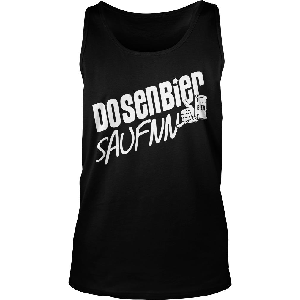Dosenbier Saufnn Bier Tank Top