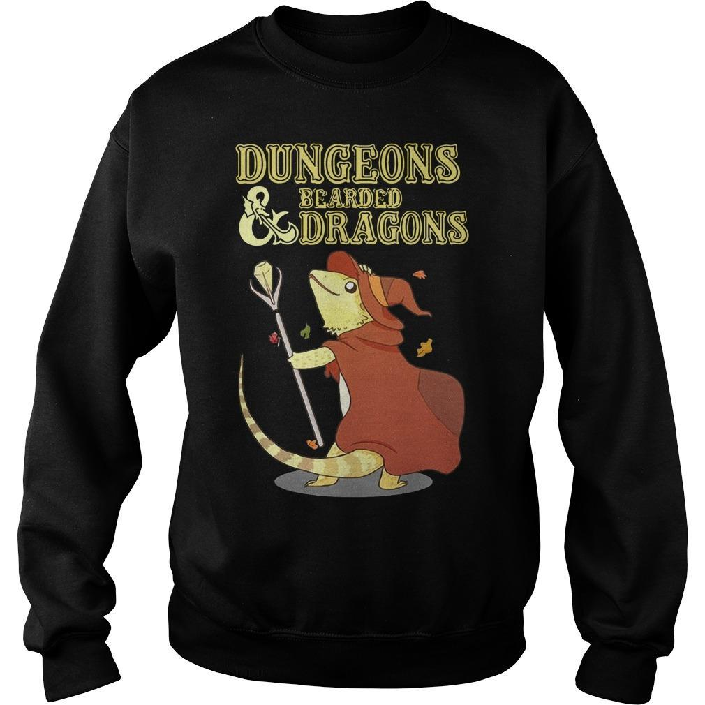 Dungeons And Bearded Dragons Sweater