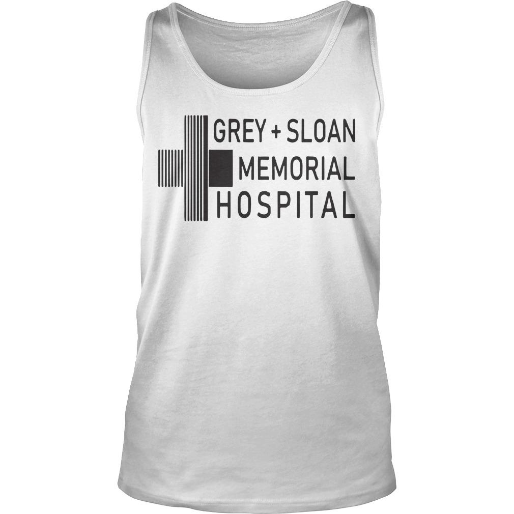 Grey Sloan Memorial Hospital Tank Top