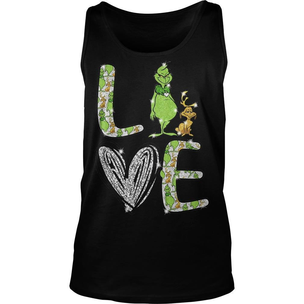 Grinch Love Tank Top