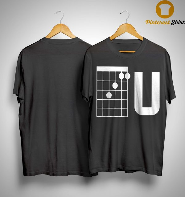 Guitar Chords F U Shirt