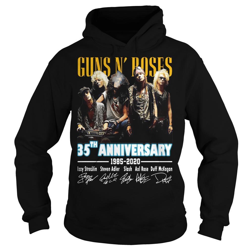 Guns N' Roses 35th Anniversary 1985 2020 Hoodie