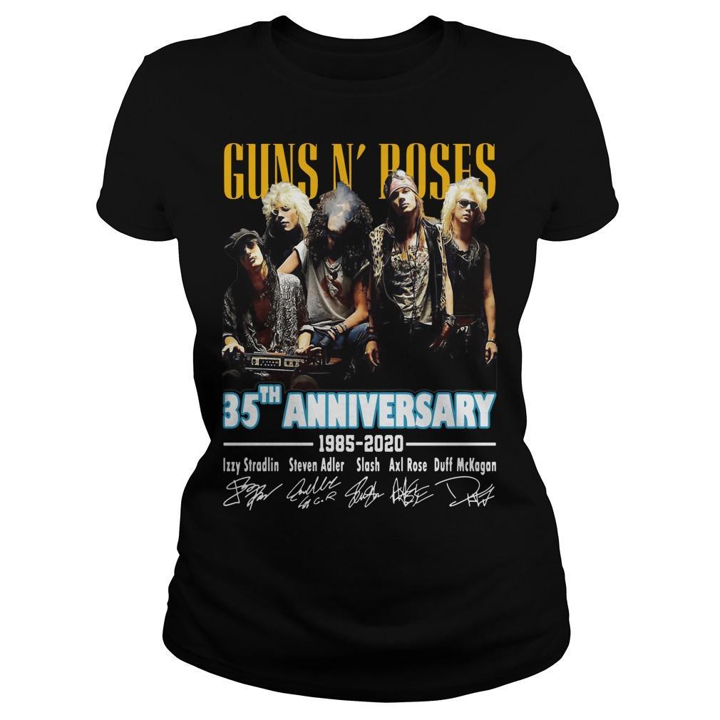 Guns N' Roses 35th Anniversary 1985 2020 Longsleeve
