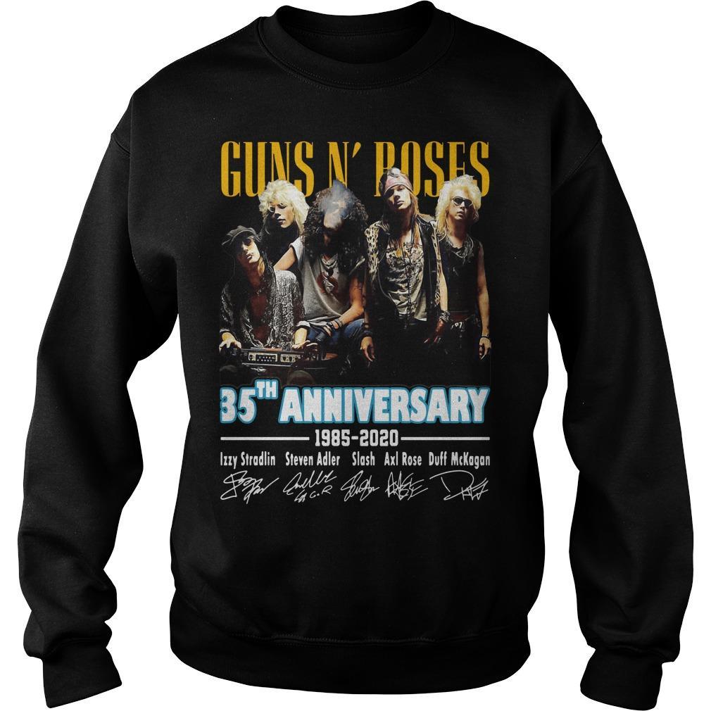 Guns N' Roses 35th Anniversary 1985 2020 Sweater