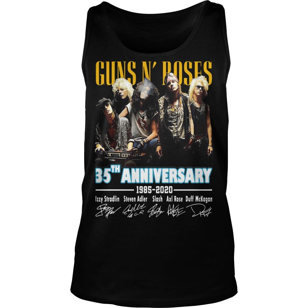 Guns N' Roses 35th Anniversary 1985 2020 Tank Top