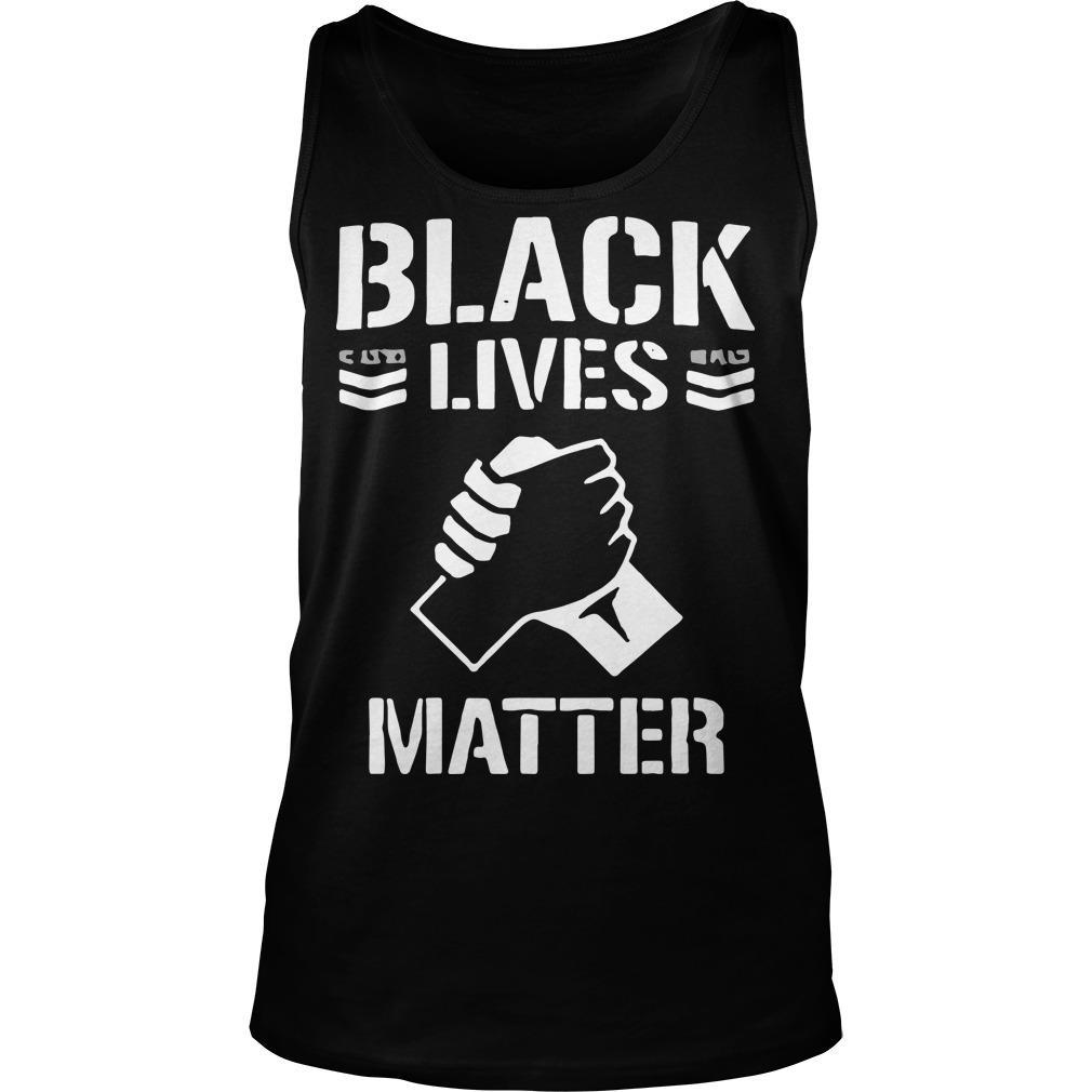 Jay White Black Lives Matter Tank Top