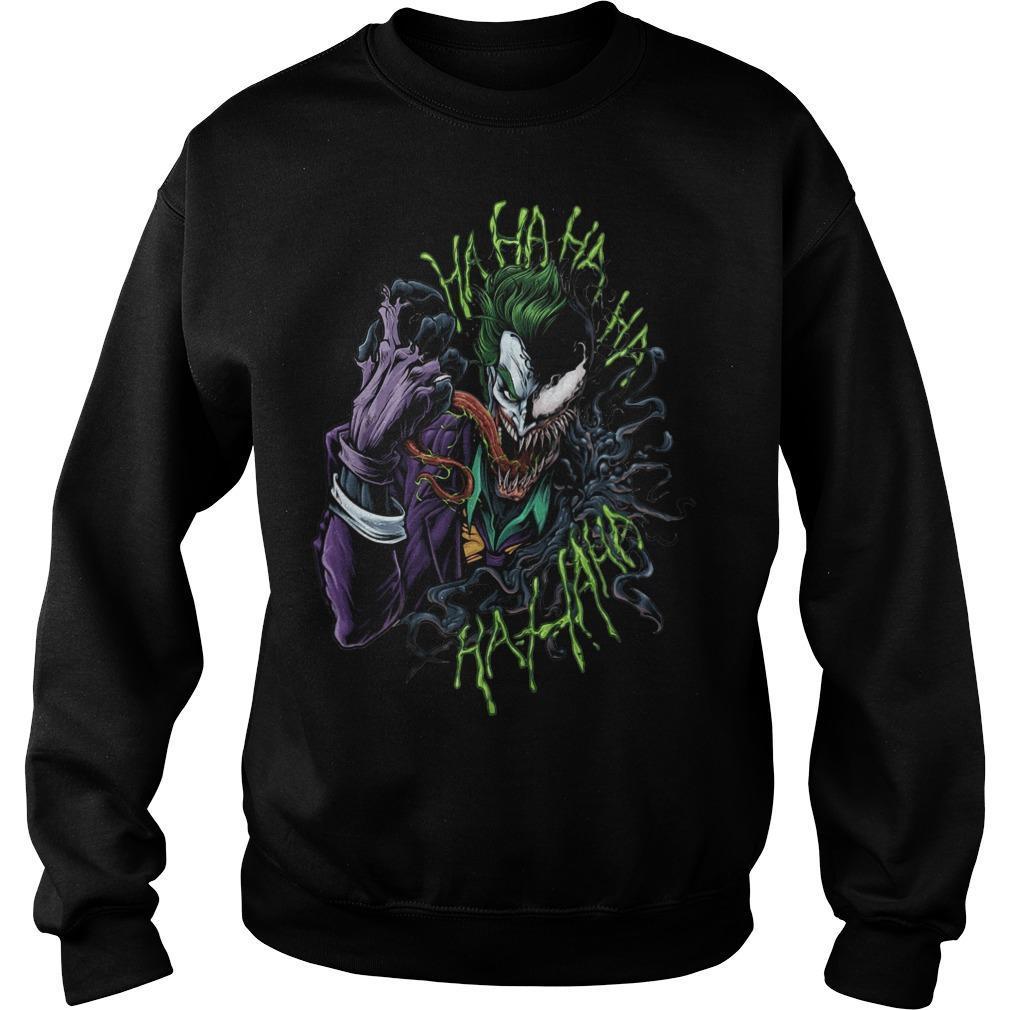 Joker X Venom Hahahaha Hahaha Sweater