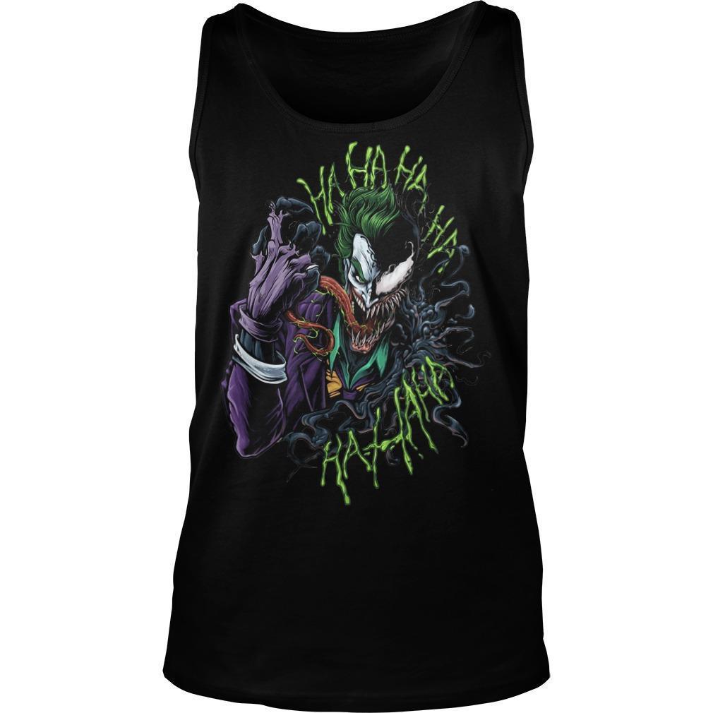 Joker X Venom Hahahaha Hahaha Tank Top